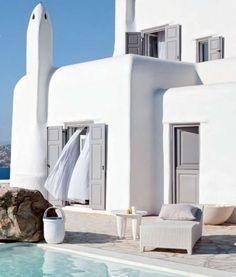 Greece, definitely on my bucket list.