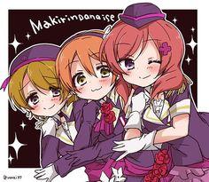 Love Live! School idol project, Hoshizora Rin, Koizumi Hanayo, Nishikino Maki