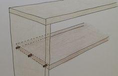 棚をDIYで自作するときの作り方の基本。   Lifeなび Shelves, How To Make, Shelving, Shelving Units, Planks, Shelf