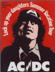 AC/DC BEEN THERE DONE THAT....1970S PORTLAND CIVIC BON SCOTT AT HIS BEST..ROCK LEGEND