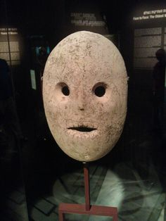9000 year old mask