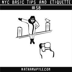 NYC BASIC TIPS AND ETIQUETTE (series 1)