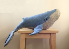 Whale toy sewing pattern - PDF instant download - Sewing Patterns at Makerist