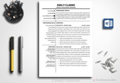 Child Care Provider Resume Professional Resume Template For Word & Pages  One Two And Three .