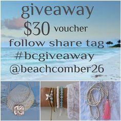 beachcomber instagram etsy giveaway