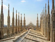 Milan Cathedral Roof | Milan Cathedral