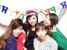 サプライズBDー(>_<) 4姉妹は 最高!