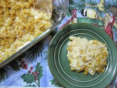 Natural and Free: Cheesy Potato Casserole (Soy, Egg, Fish and Nut-Free, Can Be Wheat-Free)