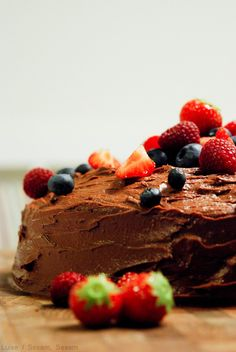 Den ultimative Devil's Food Cake — Sesam, Sesam