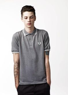 a daily dose of ash keeps the doctor away : Photo Bad Boys Tumblr, Ash Stymest, Slick Hairstyles, Fred Perry, Men's Grooming, Beautiful Boys, Male Models, Editorial Fashion, Mens Fashion
