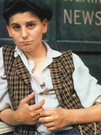 Racetrack Higgins from the movie Newsies.