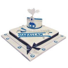 Turkish Maşallah Cake for a special Sunet Party Religious Cakes, Baby Batman, Occasion Cakes, Cute Cakes, Celebration Cakes, Decoration, Cake Decorating, Bakery, Candy