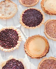 Today is March 14th, aka Pi Day because of the infinite number's first three digits: 3.14. To commemorate the obviously momentous occasion, we've rounded up our favorite wedding pies from real celebrations. You can start drooling … now!Made With LoveThis bride's family made over 30 different pies including blueberry-cream and pecan.