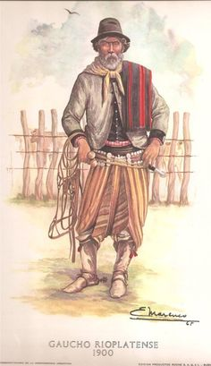 1965, Eleodoro Marenco: gaucho rioplatense del 1900.