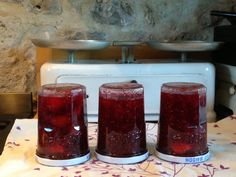 Pillar Candles, Dordogne, Plum Jam, Raspberries, Color, Taper Candles, Candles