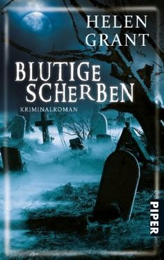 The Glass Demon, German cover. Splendidly melodramatic cover!