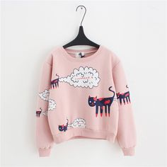 Like and Share if you want this Casual Thick Cartoon Cat Pattern Sweatshirt Pullovers Tag a friend who would love this! FREE Shipping Worldwide | Brunei's largest e-commerce site. Buy one here---> https://mybruneistore.com/2016-new-spring-autumnsweatshirt-women-tops-plus-size-loose-casual-plus-thick-velvet-cartoon-cat-pattern-sweatshirts-pullovers/