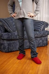 How to Take in Pant Legs tutorial - perfect for my linen beach pants!