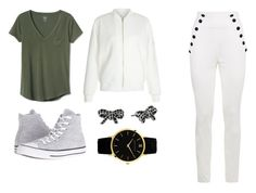 """""""Cool"""" by titi-reina on Polyvore featuring moda, Gap, Tommy Hilfiger, New Look, Converse y Marc Jacobs"""