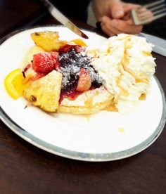 Hawaiian pancake