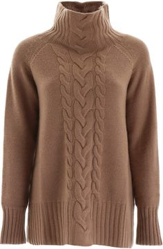 Shop 'S Max Mara Cable Knit Pull and save up to EXPRESS international shipping! Cable Knit Jumper, Hand Knitted Sweaters, Max Mara, Cashmere Wrap, Cardigans For Women, Winter Sweaters, Knitwear, Pullover, Lady