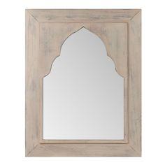 Specchio Akmal naturale modello grande