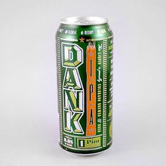 Dank IPA Cans designed by Anthem Branding