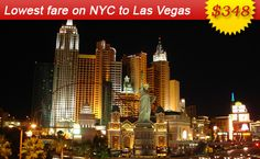 Air Fares & Flight Ticket Booking to and from Las Vegas - Book Cheap Flights Tickets from Las Vegas with AirFareMall.Com. We offer Great airfare deals on International and Domestic Flight Bookings.