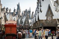 Must go here- can't help but love Harry Potter! The Wizarding World of Harry Potter, Orlando, FL