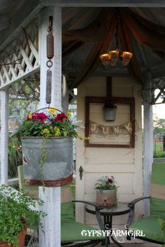 Junk Gypsy Home Decorating | HOME & GARDEN: Sous le belvédère