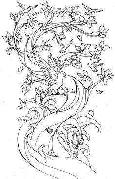 Family Tree Tattoo Sample