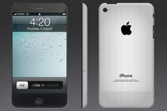 What about a large display in the next iPhone 5 ?