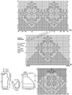 Fair Isle Knitting Patterns, Knitting Stiches, Free Knitting, Stitch Patterns, Knitwear, Knit Crochet, Free Pattern, Ornament, Design