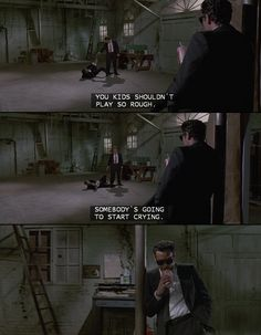 Mr. Blonde - Reservoir dogs  #movies #quotes