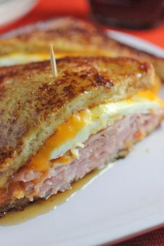 French Toast Grilled Cheese Sandwich - Vertical Food