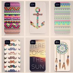 If I ever had an iPhone...I would love to have one or two of the bottom three. :3