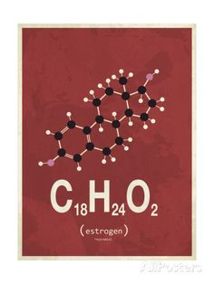 Molecule Estrogene ジクレープリント