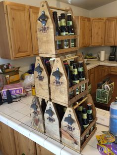 Groomsmen Gifts - Beer Caddies