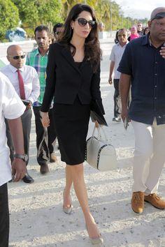 What: Paul Andrew Pumps When: September 8, 2015 Where: Visiting Maldivian former president Mohamed Nasheed in jail in the Maldives   - HarpersBAZAAR.com