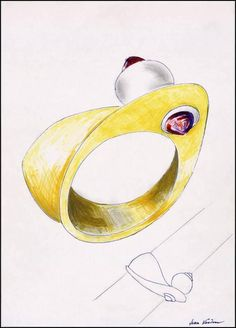 Jean Vendome - [Projet de bracelet] | Centre de documentation des musées - Les Arts Décoratifs