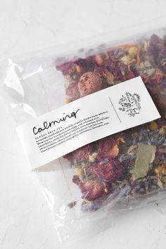 Fig + Moss Calming Herbal Bath Tea