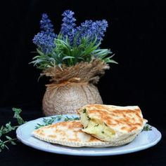 French piadina bread turnovers.