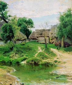 Turgenevo Village by Vasiliy Polenov