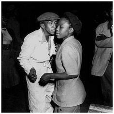 Cheek to Cheek - Township shuffle Johannesburg by Jurgen Schadeberg African American Artist, American Artists, Vintage Photography, Portrait Photography, Black Love, Black And White, Cultural Beliefs, Couple Moments, Comic Poster