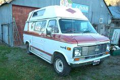 Chevy Vans, Slide In Camper, Best Barns, Van Living, Van Camping, Mobile Homes, Barn Finds, Camper Van, Pickup Trucks
