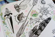 Pony Gold.: Sketchbook: Remain untamed #sketchbook #sketches #nature