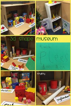 Our 3D shape museum