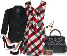 Burberry Plaid in Winter - Polyvore