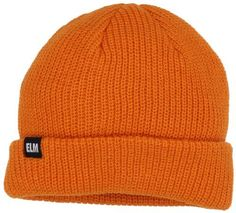 €15, Orange Mütze von ELM. Online-Shop: Amazon.com. Klicken Sie hier für mehr Informationen: https://lookastic.com/men/shop_items/10827/redirect