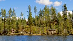 #villahevi #sumeria #holidaycottages #finland The Real World, Finland, The Dreamers, Storytelling, Cottage, Cabin, River, Mountains, Holiday